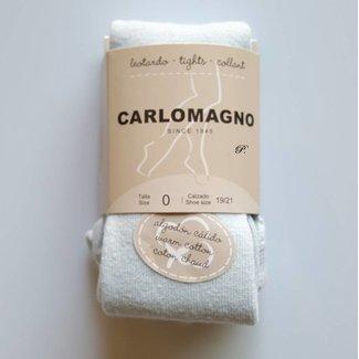 CARLOMAGNO - Socks Kousenbroek effen Hemels blauw