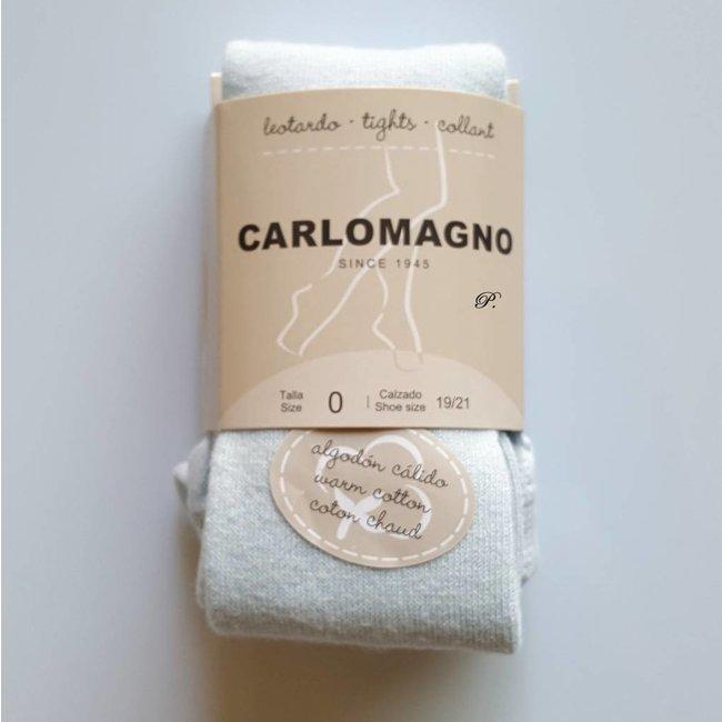 CARLOMAGNO - Socks Tights plain Sky Blue