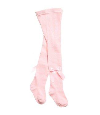 CARLOMAGNO - Socks Satin Bow Cotton Tights - pink rosa