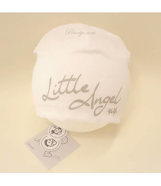 CAPOCUBO Newborn Witte Muts  Little Angel