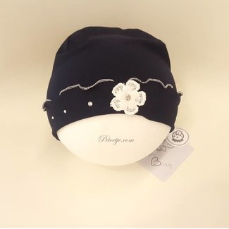 CAPOCUBO Newborn Blue Hat Flower