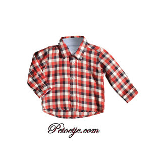 DR. KID Red Check Shirt
