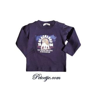 DR. KID Boys Blue Cotton T-shirt