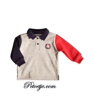 DR. KID Boys Grey Polo Shirt