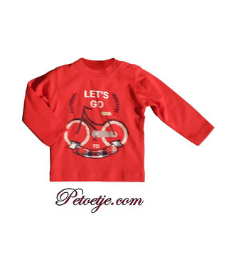 DR. KID Boys Red Cotton Top