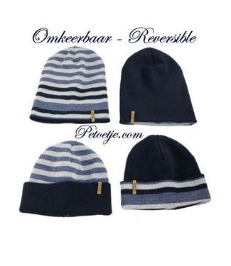 CAPOCUBO Boys Blue Reversible Hat