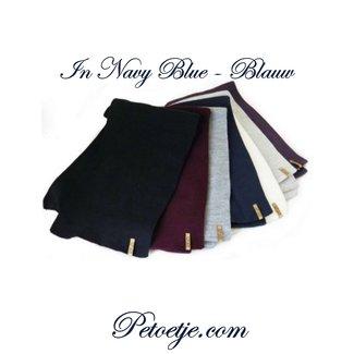 CAPOCUBO Jongens Blauwe Sjaal