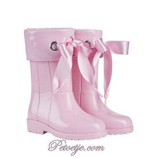IGOR  Campera Charol Pink Ribbon Rain Boots