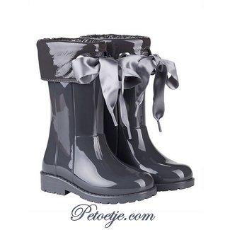 IGOR  Campera Charol Grey Ribbon Rain Boots