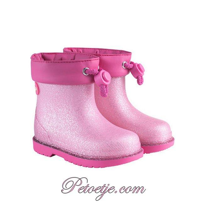 IGOR  Bimbi Glitter Fuchsia Rain Boots