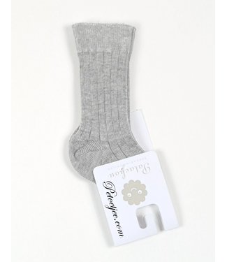 PATACHOU Unisex Grey Cotton Kneesocks