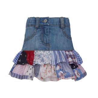 LAPIN HOUSE Denim Jeans Ruffle Rok