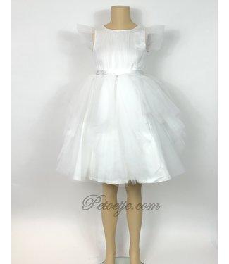 MISS BLUMARINE  White Tulle Dress