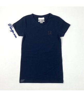 RETOUR  Boys Navy Blue Logo Top