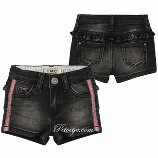 EMC Baby Girls Black Denim  Shorts