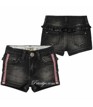 EMC Baby Girls Black Denim  Shorts