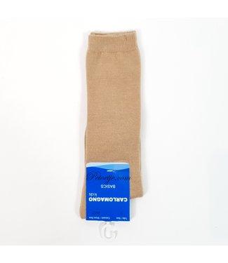 CARLOMAGNO - Socks Uniseks Camel Kniekous
