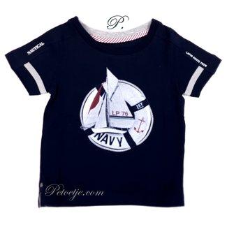 LAPIN HOUSE Jongens Blauwe T-shirt LP76