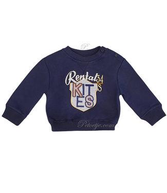 DR. KID Boys Navy Blue Sweater