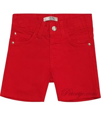 DR. KID Boys Red Cotton Shorts