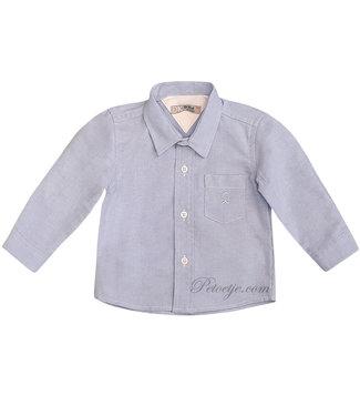 DR. KID Jongens Licht Blauw Hemd
