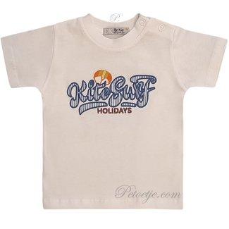 DR. KID Jongens Witte T-Shirt