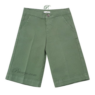 LIU JO Khaki Green Culottes Trousers