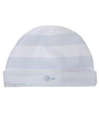 PATACHOU Baby Boys Reversible Cotton Hat