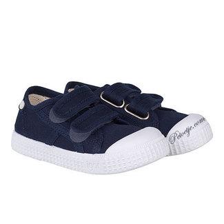 IGOR  Blauwe Velcro Schoen