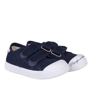 IGOR  Navy Blue Velcro Shoes
