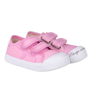 IGOR  Pink Velcro Shoes