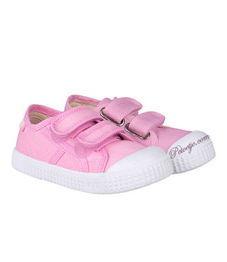 IGOR  Pink Velcro Shoes