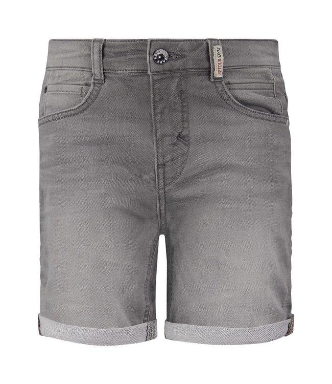 RETOUR Jeans Boys Grey Denim Short