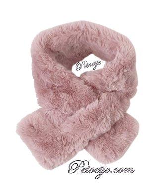 LAPIN HOUSE Meisjes Roze Imitatie Bont Sjaal
