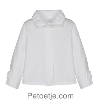 LAPIN HOUSE Girls Beige Blouse