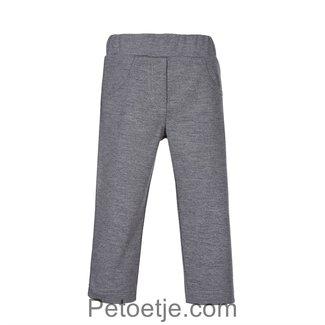 LAPIN HOUSE Girls Grey Viscose Trousers