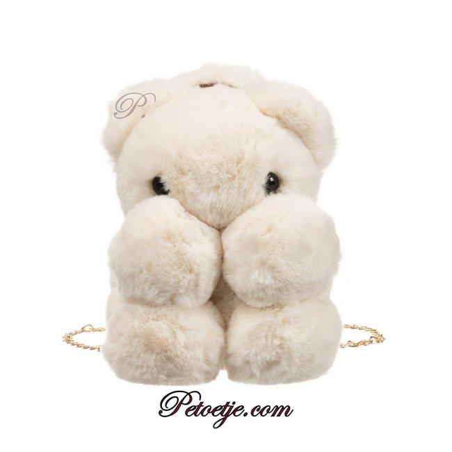 LAPIN HOUSE Ivory Backpack Bear