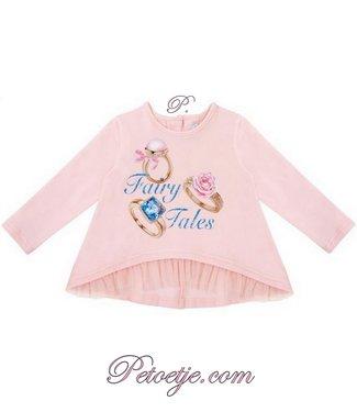 BALLOON CHIC Baby Girls Pink Tunic - Fairy