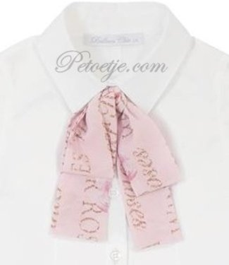 BALLOON CHIC Neck Ribbon for Blouse