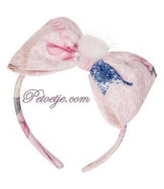 BALLOON CHIC Pink Fairytale Bow Hairband