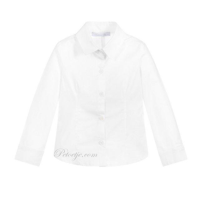 BALLOON CHIC Meisjes Witte Blouse - Basic