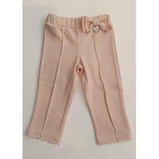 LAPIN HOUSE Girls Pink Viscose Trousers