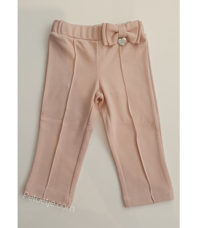LAPIN HOUSE Girls Pink Viscose Trousers