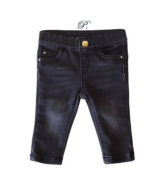 LIU JO Baby Girls Black Denim Trousers