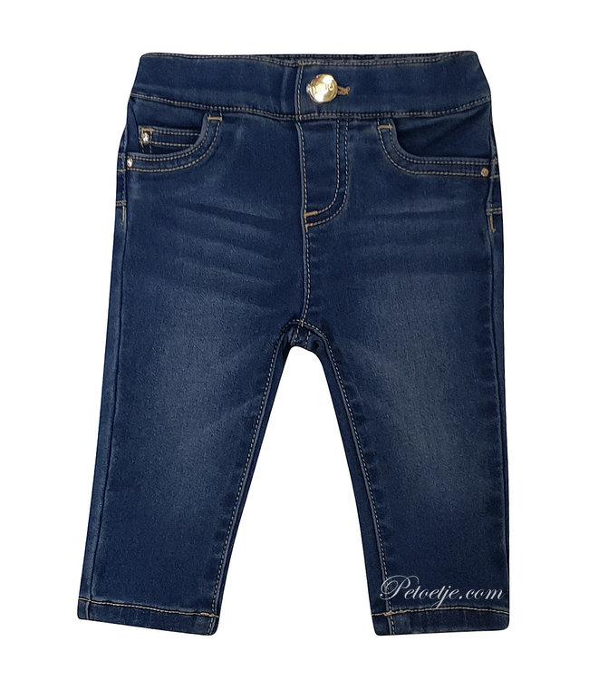 LIU JO Baby Girls Blue Denim Trousers