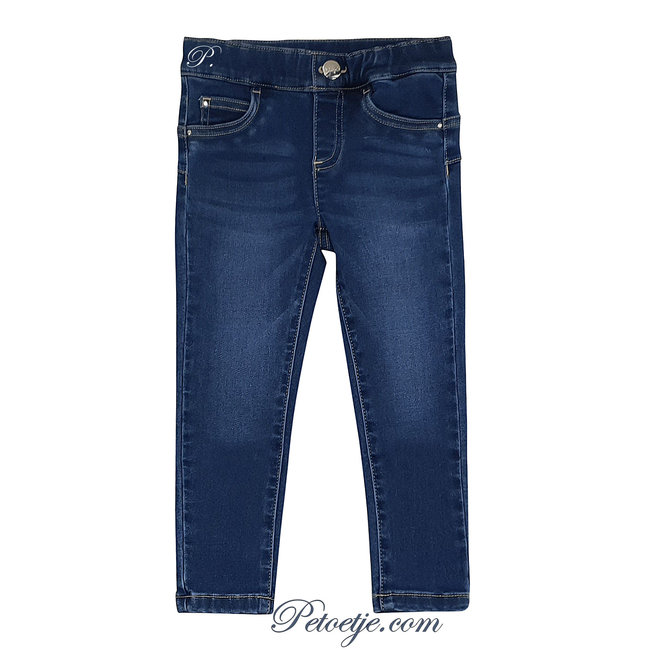 LIU JO Girls Blue Denim Jeans