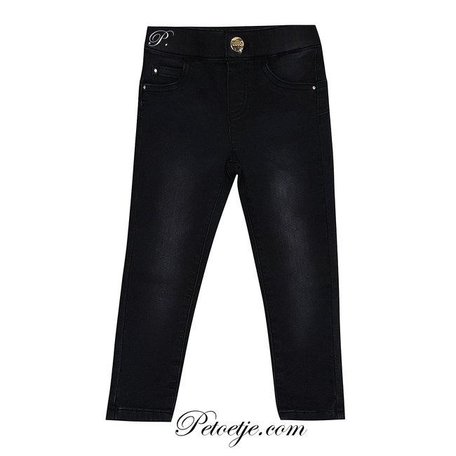 LIU JO Girls Black Denim Jeans
