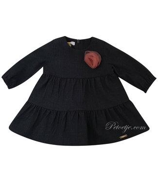 LIU JO Baby Girls Grey Dress - Flower