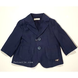 BARCELLINO Boys Blue Blazer Jacket