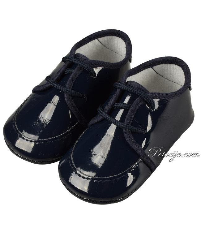 BARCELLINO Baby Blauwe Pre Walker Schoenen